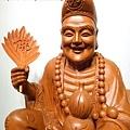 L4803.濟公師父 濟公活佛 降龍羅漢 1尺6佛像雕刻.JPG