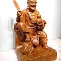 L4804.濟公師父 濟公活佛 降龍羅漢 1尺6佛像雕刻.JPG