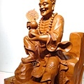L4807.濟公師父 濟公活佛 降龍羅漢 1尺6佛像雕刻.JPG