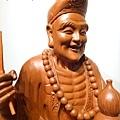 L4812.濟公師父 濟公活佛 降龍羅漢 1尺6佛像雕刻.JPG