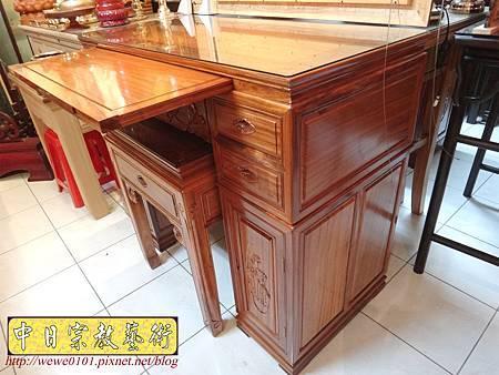 M14602.柚木神桌 箱櫃式佛桌 4尺2上下桌.JPG
