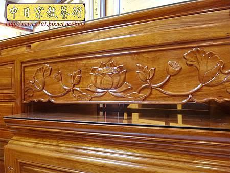 M14606.柚木神桌 箱櫃式佛桌 4尺2上下桌.JPG