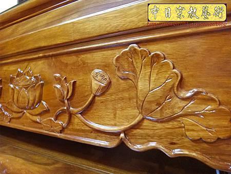 M14608.柚木神桌 箱櫃式佛桌 4尺2上下桌.JPG
