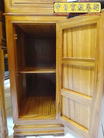 M14610.柚木神桌 箱櫃式佛桌 4尺2上下桌.JPG