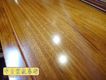 M14611.柚木神桌 箱櫃式佛桌 4尺2上下桌.JPG