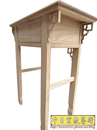 M14707.柚木神桌白身 二尺九佛桌 特製深度一尺六神桌樣式.JPG