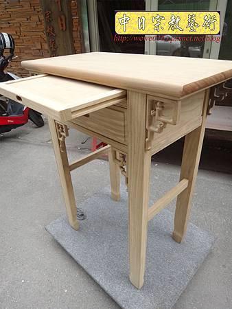M14711.柚木神桌白身 二尺九佛桌 特製深度一尺六神桌樣式.JPG