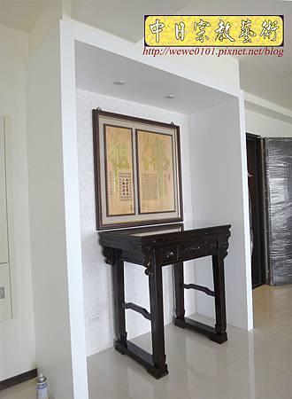 N24102.現代佛堂設計 三尺六黑檀佛桌 高級神桌 實木雕刻佛桌聯.JPG