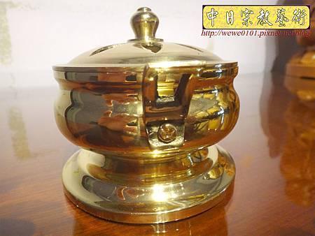 F4703.素面淨香爐 淨爐 神桌香爐銅器.JPG