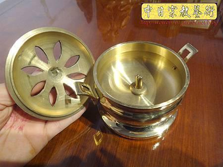 F4708.素面淨香爐 淨爐 神桌香爐銅器.JPG