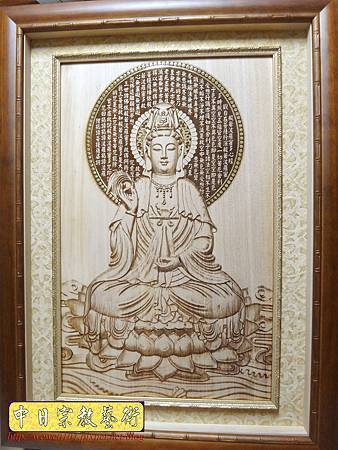 A8701.3D木雕觀世音菩薩 神桌聯佛桌背景設計.JPG