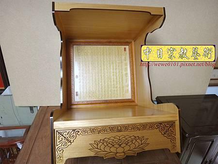 M15102.壁掛式神桌 實木掛櫥 吊櫥 神龕佛龕製作.JPG