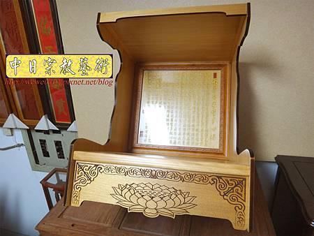 M15104.壁掛式神桌 實木掛櫥 吊櫥 神龕佛龕製作.JPG