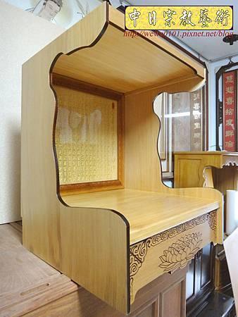 M15109.壁掛式神桌 實木掛櫥 吊櫥 神龕佛龕製作.JPG