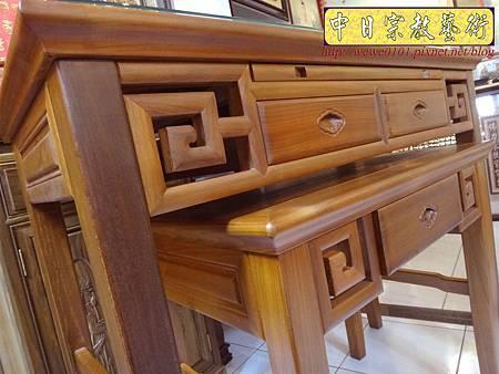 M15212.彎腳佛桌樣式 柚木4尺2神桌.JPG