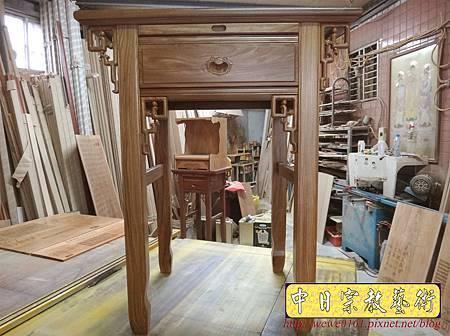 M15508.柚木神桌樣式 2尺9小佛桌.JPG