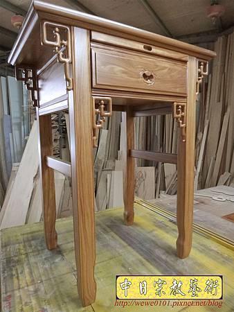 M15510.柚木神桌樣式 2尺9小佛桌.JPG