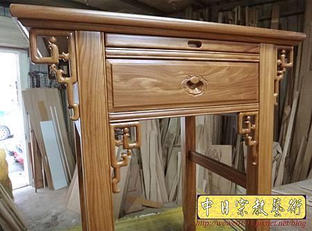 M15511.柚木神桌樣式 2尺9小佛桌.JPG