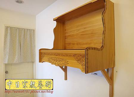 M15602.客製化半櫥 壁掛式神桌製作 吊櫥神櫥設計.JPG