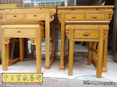 M15701.榆木神桌製作 2尺9佛桌樣式 精緻小神桌.JPG