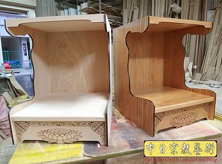M16201.壁掛式神桌製作 半櫥神龕 吊櫥佛龕公媽龕設計.JPG