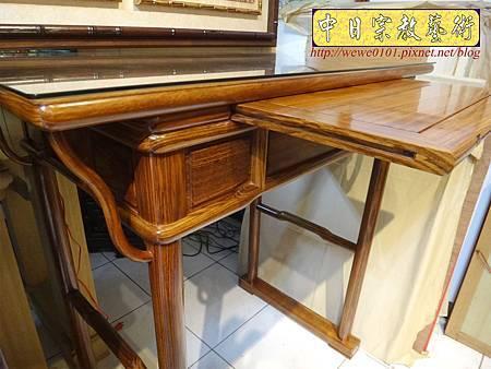 M16302.現代佛桌設計 3尺6神桌樣式 柚木小神桌製作.JPG
