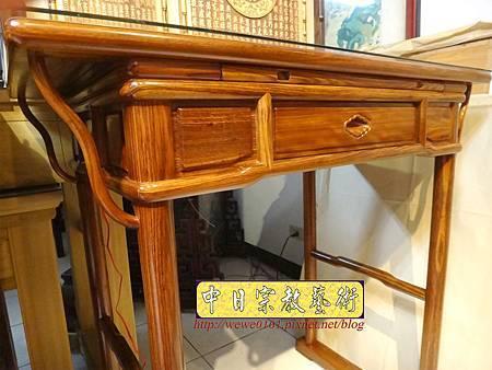 M16303.現代佛桌設計 3尺6神桌樣式 柚木小神桌製作.JPG