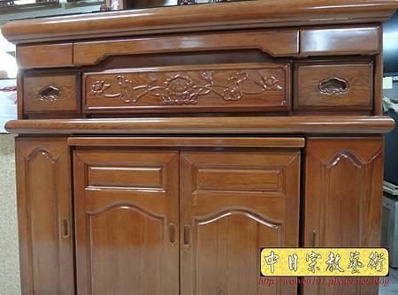 M16603.收納式神桌款 4尺2櫃型佛桌 檜木神桌製作.JPG