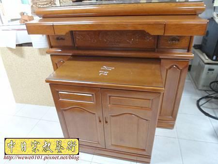 M16607.收納式神桌款 4尺2櫃型佛桌 檜木神桌製作.JPG