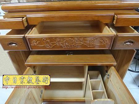 M16610.收納式神桌款 4尺2櫃型佛桌 檜木神桌製作.JPG