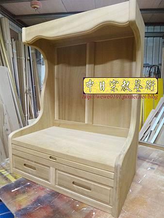 M16802.全實木半櫥神桌製作 吊櫥佛桌製作.JPG
