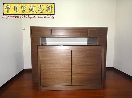 B17101.現代素面神桌 系統櫃式佛桌.JPG