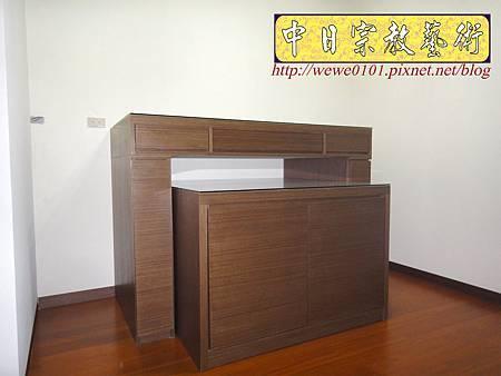 B17102.現代素面神桌 系統櫃式佛桌.JPG