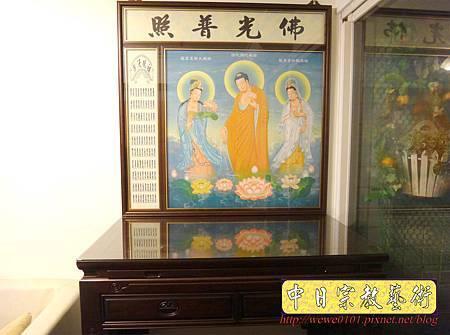 C9510.西方三聖佛桌背景製作.JPG