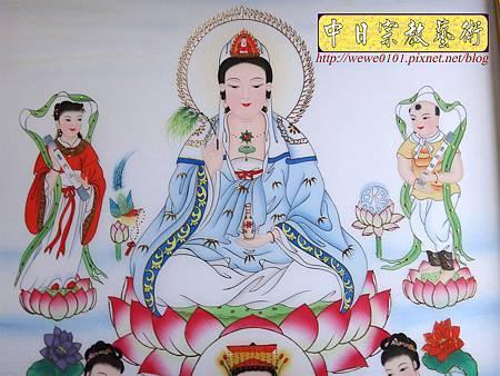 C9904.傳統神明廳神桌背景 8尊神明彩製作.JPG