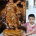 L5601.神像精品雕刻-關公 關老爺 關聖帝君木雕藝品2尺9.JPG