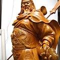 L5624.神像精品雕刻-關公 關老爺 關聖帝君木雕藝品2尺9.JPG