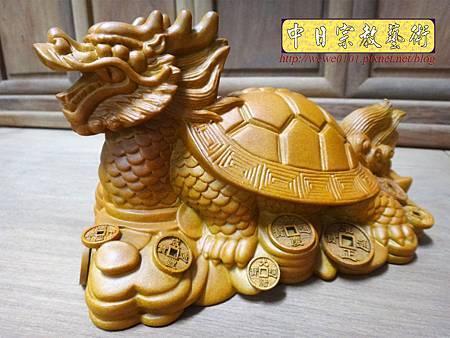 L5701.龍龜木雕藝品 樟木材質製作.JPG