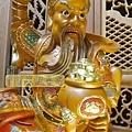 L5803.武財神木雕 八路財神雕刻 一尺六武財神趙公明.JPG
