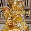 L5814.武財神木雕 八路財神雕刻 一尺六武財神趙公明.JPG