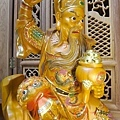 L5818.武財神木雕 八路財神雕刻 一尺六武財神趙公明.JPG