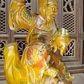 L5819.武財神木雕 八路財神雕刻 一尺六武財神趙公明.JPG