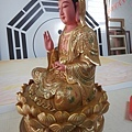 L5903.極緻神桌佛像雕刻~觀世音菩薩木雕佛像 極彩描金製做.JPG