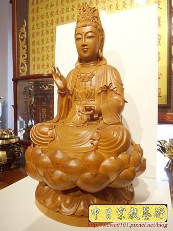 L6002.觀音木雕神像 樟木神像雕刻.JPG