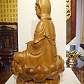L6009.觀音木雕神像 樟木神像雕刻.JPG