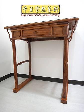 M17201.簡易式佛桌製作 3尺6柚木神桌樣式.JPG