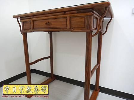 M17202.簡易式佛桌製作 3尺6柚木神桌樣式.JPG