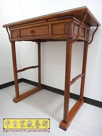 M17203.簡易式佛桌製作 3尺6柚木神桌樣式.JPG