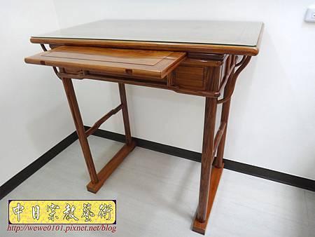 M17204.簡易式佛桌製作 3尺6柚木神桌樣式.JPG