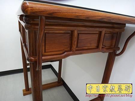 M17209.簡易式佛桌製作 3尺6柚木神桌樣式.JPG